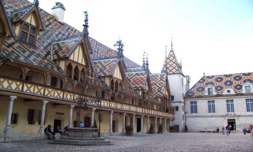Zdjecie FRANCJA / Burgundia / Baune / Hospice de Baun