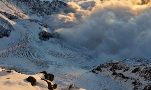 Zdjęcie FRANCJA / Chamonix / Mont Blanc / Nie ma to jak widok lodowca z góry