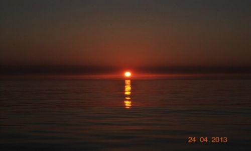 Zdjęcie FRANCJA / Atlantyk / na zachód od Lorient / zachód słońca