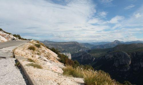 Zdjecie FRANCJA / - / Francja - kanion Verdon / Francja - kanion Verdon