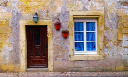 Zdjecie FRANCJA / Lotaryngia / Rodemack / Spokojny dom