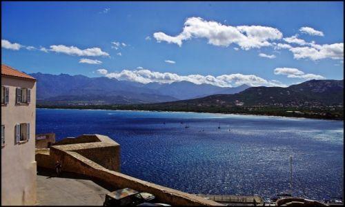 Zdjecie FRANCJA / Korsyka / Calvi / Calvi, widok z murów cytadeli