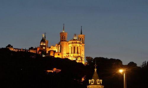 FRANCJA / Rhone / Lyon / Lyon, widok na Fourviere