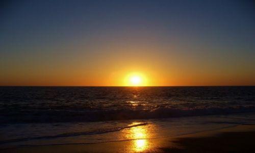 FRANCJA / Akwitania / Hossegor / Zatoka Biskajska, zachód słońca