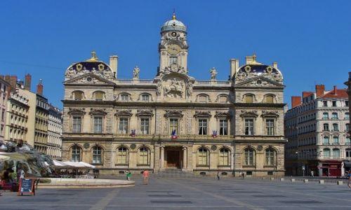 FRANCJA / Rhon  / Lyon / Lyon, plac Terreaux