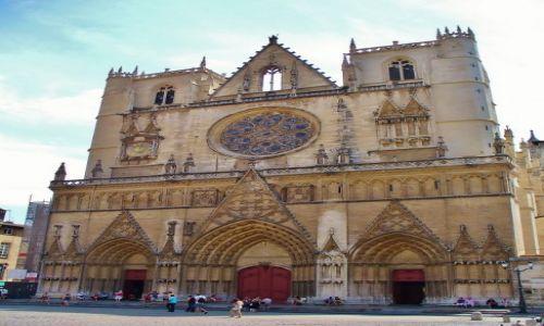 FRANCJA / Rhon / Lyon / Katedra św. Jana- Lyon