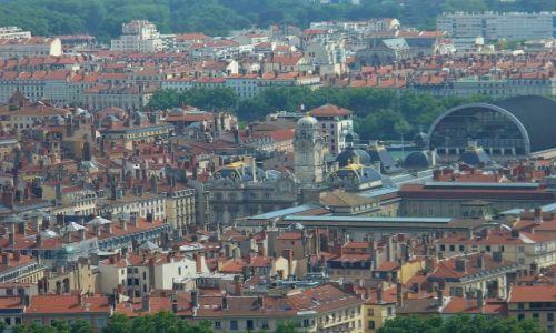 FRANCJA / Rhon / Lyon / Panorama