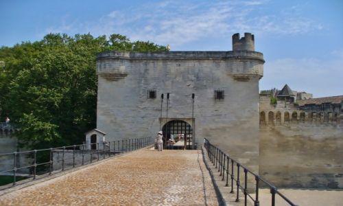 FRANCJA / Prowansja / Avignon / Avignon, słynny most st. Benezet