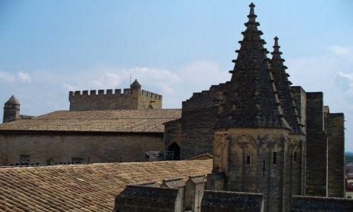 FRANCJA / Prowansja / Avignon / Avignon, zamek papieży