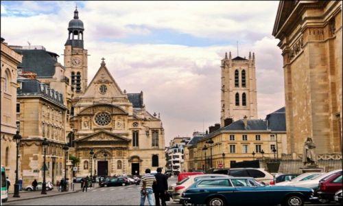 Zdjecie FRANCJA / Île-de-France / Paryż / Kościół St Etienne du Mont, Paryż