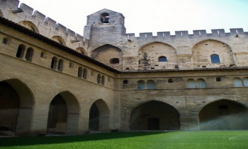 Zdjęcie FRANCJA / Prowansja / Avignon / Avignon, zamek papieży