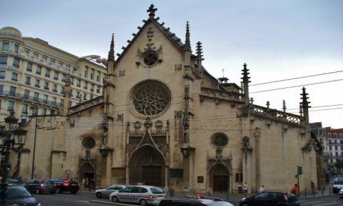 FRANCJA / Rhone / Lyon / Lyon, kościół pofranciszkański