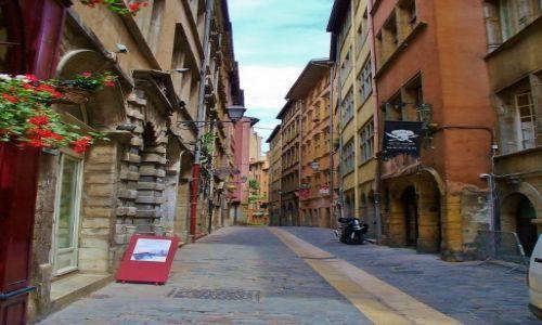 FRANCJA / Rhone / Lyon / Lyon, uliczka