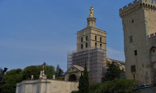 Zdjęcie FRANCJA / Prowansja / Avignon / Avignon, katedra