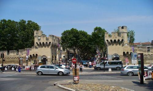 Zdjęcie FRANCJA / Prowansja / Avignon / Avignon, mury miasta