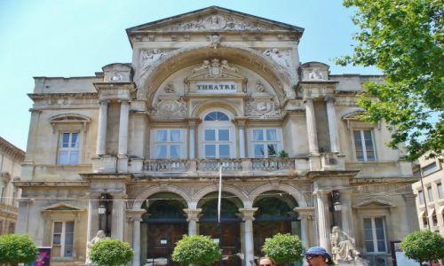 Zdjęcie FRANCJA / Prowansja / Avignon / Avignon, teatr