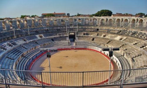 FRANCJA / Prowansja / Arles / Arles, cyrk antyczny