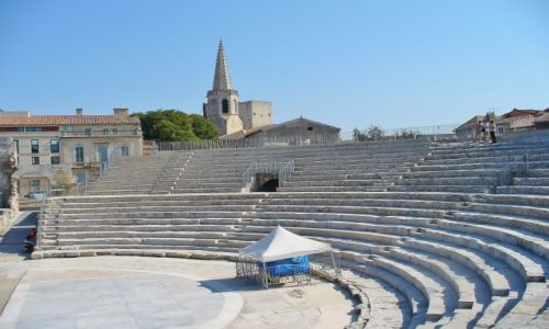 FRANCJA / Prowansja / Arles / Arles, teatr antyczny