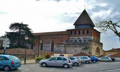 FRANCJA / Midi Pyrenees / Moissac / Moissac, opactwo św. Piotra
