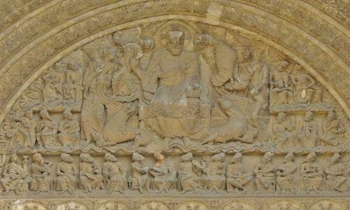 FRANCJA / Midi Pyrenees / Moissac / Moissac, opactwo św. Piotra- portal