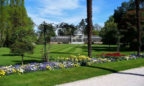 FRANCJA / Haute Pyrenees / Tarbes / Tarbes, Jardin Massey