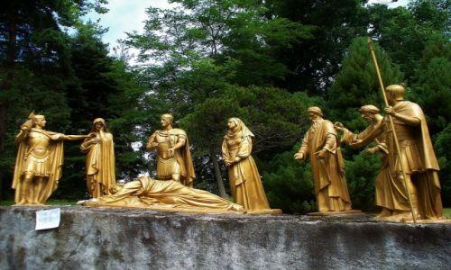 FRANCJA / Haute Pyrenees / Lourdes / Lourdes, droga krzyżowa