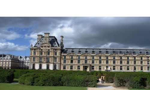 Zdjecie FRANCJA / Paryż / Paryż-Luwr  / ...