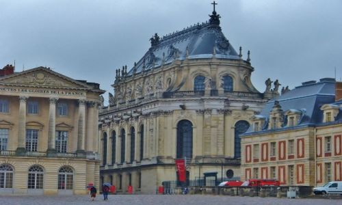 Zdjęcie FRANCJA / Ile de France / Paryż / Wersal, pałac Ludwika XIV