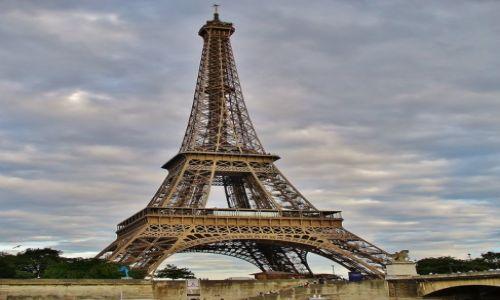 Zdjęcie FRANCJA / Ile de France / Paryż / Paryż, wieża Eiffla