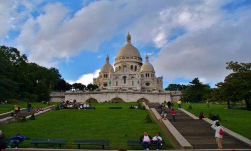 Zdjęcie FRANCJA / Ile de France / Paryż / Paryż, Sacré-Cœur