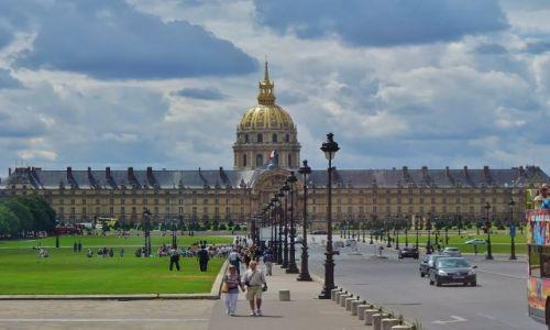 Zdjęcie FRANCJA / Ile de France / Paryż / Paryż, Les Invalides
