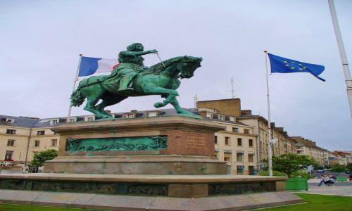 Zdjęcie FRANCJA / Ile de France / Orlean / Orlean, pomnik Joanny D'Arc