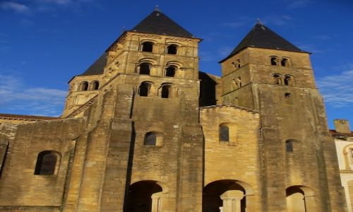 Zdjecie FRANCJA / Burgundia / Paray-le-Monial / Paray-le-Monial, opactwo