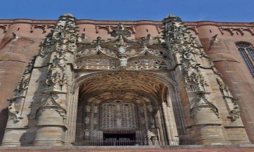 Zdjęcie FRANCJA / Midi-Pyrénées / Albi / Albi, katedra św. Cecylii