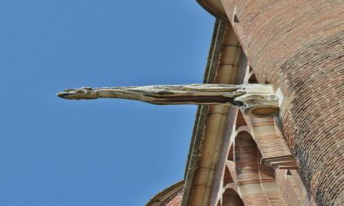 Zdjecie FRANCJA / Midi-Pyrénées / Albi / Albi, katedra św. Cecylii