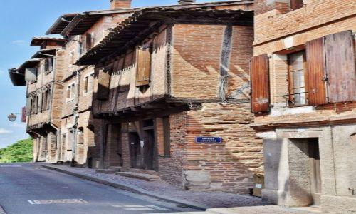 Zdjęcie FRANCJA / Midi-Pyrénées / Albi / Albi, uliczki