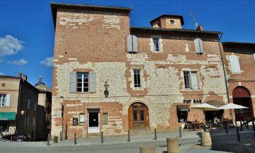 Zdjecie FRANCJA / Midi-Pyrénées / Albi / Albi, uliczki