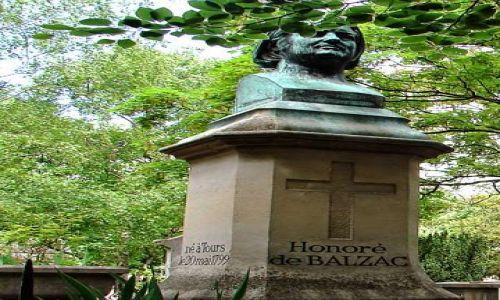 Zdjecie FRANCJA / Paryż / Cmentarz Pere Lachaise / Cmentarz Pere Lachaise
