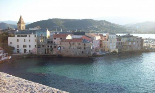Zdjecie FRANCJA / Korsyka / Sain Florent / widok