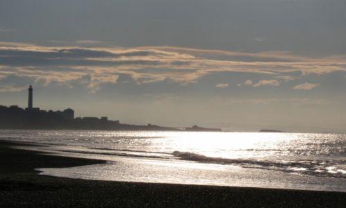 Zdjęcie FRANCJA / Kraj Baskow / Biarritz / lustro latarni morskiej