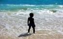 Zdjecie SESZELE / Wyspa Mahe / Anse intendance / konkurs  - blue & black