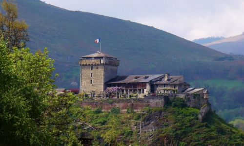 FRANCJA / Midi-Pyrénées / Lourdes / Lourdes, Château fort