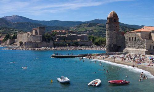 FRANCJA / Pyrenees Orientales / Collioure / Collioure