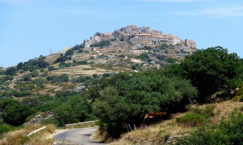 Zdjecie FRANCJA / Korsyka / Sant Antonino / najwyżej położona wioska na Korsyce-Sant Antonino