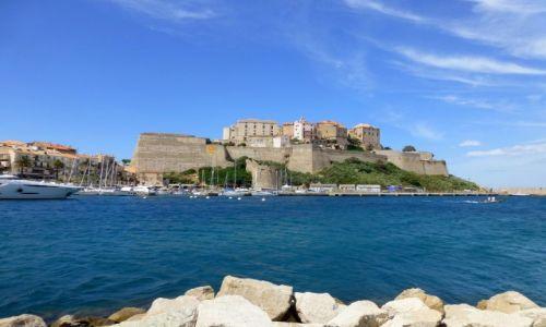 Zdjecie FRANCJA / Korsyka / Calvi / twierdza w Calvi