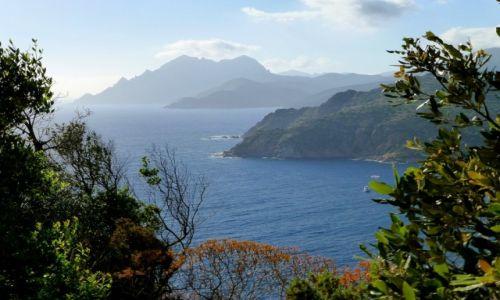 Zdjecie FRANCJA / Korsyka / zachodnie wybrzeże Korsyki / piękne widoki przed sobą i za sobą  -D81