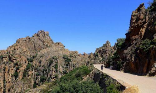 Zdjecie FRANCJA / Korsyka / okolice Porto / trasa wśród niezwykłych skał Kalanques
