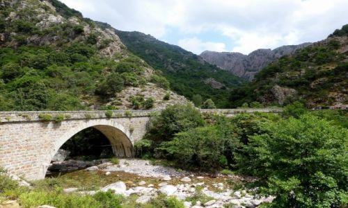 Zdjecie FRANCJA / Korsyka / okolice Porto / podwójny most na trasie do Wąwozu Spilonca