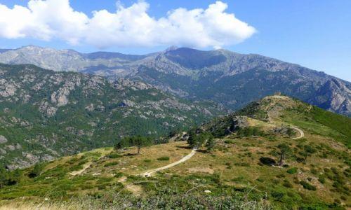 Zdjecie FRANCJA / Korsyka / w głębi wyspy / trasa z Corte na wschodnie wybrzeże