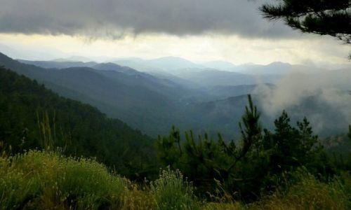 Zdjecie FRANCJA / Korsyka /  Col de Bavella / burza na przęłęczy Col de Bavella